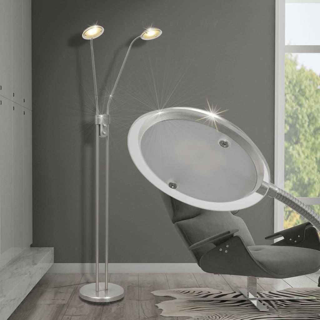 vidaXL Lampă de podea cu iluminare LED și intensitate variabilă 10 W vidaxl.ro