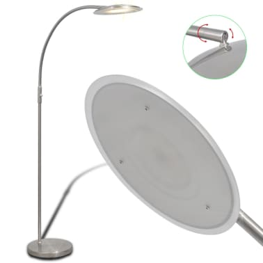 vidaXL lámpara de pie regulable con LED 18 W[3/8]