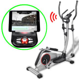 vidaXL Programmerbar Crosstrainer XL Moving Mass 18 kg Smart App