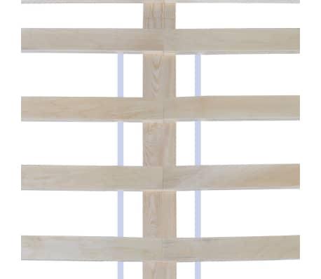 vidaXL Pat 180 x 200 cm lemn de pin masiv alb[6/7]