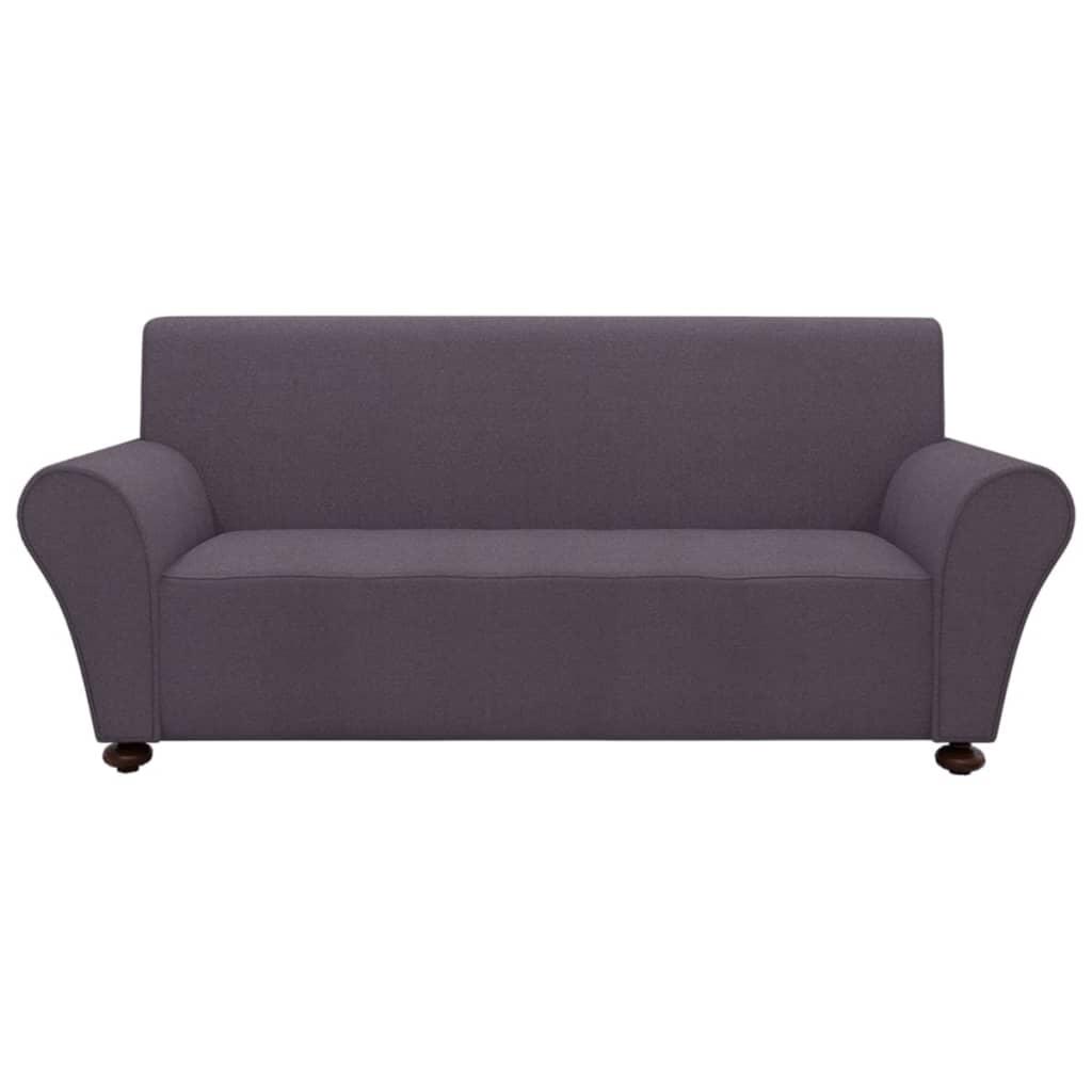 99131084 Sofahusse Sofabezug Stretchhusse Anthrazit Polyester-Jersey