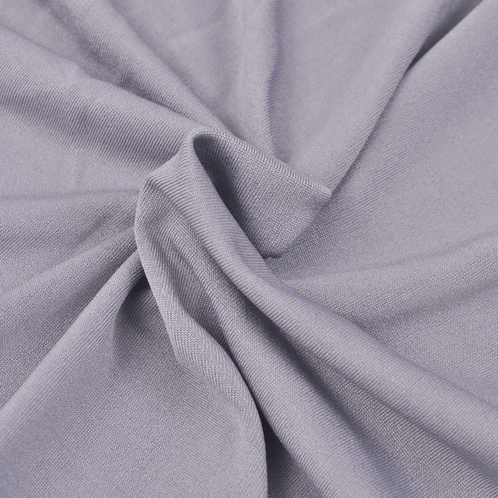 Elastyczny pokrowiec na fotel, z dżerseju, szary