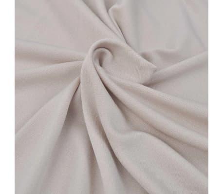 vidaXL Elastyczny pokrowiec na sofę, z dżerseju, beżowy[4/5]