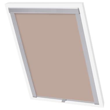 acheter vidaxl store enrouleur occultant beige m06 306 pas cher. Black Bedroom Furniture Sets. Home Design Ideas
