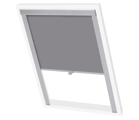vidaxl store enrouleur occultant gris m04 304. Black Bedroom Furniture Sets. Home Design Ideas