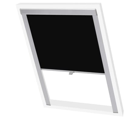 vidaxl verdunkelungsrollo schwarz 104 g nstig kaufen. Black Bedroom Furniture Sets. Home Design Ideas
