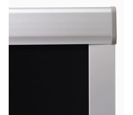 vidaxl verdunkelungsrollo schwarz m06 306 g nstig kaufen. Black Bedroom Furniture Sets. Home Design Ideas