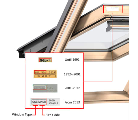 Velux Skylight Roof Window Blackout Roller Blinds Covers