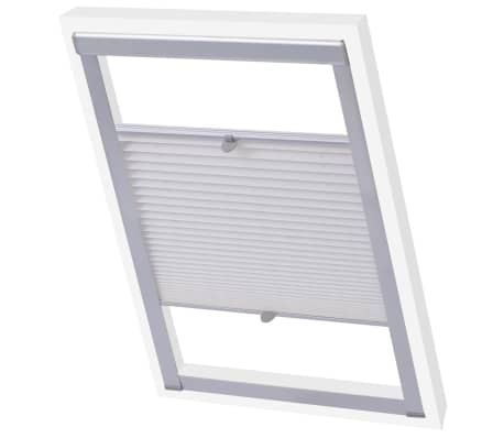 acheter vidaxl store pliss blanc 206 pas cher. Black Bedroom Furniture Sets. Home Design Ideas