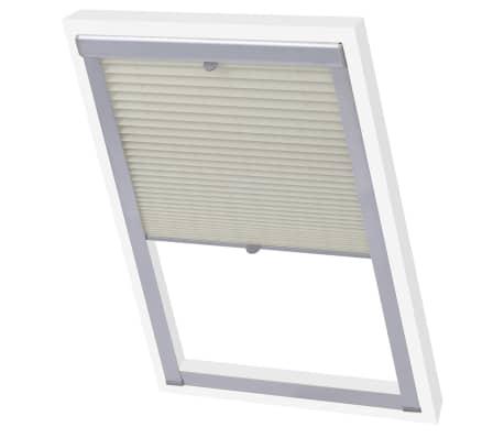 vidaXL Senčilo za zatemnitev okna bež C02[3/7]