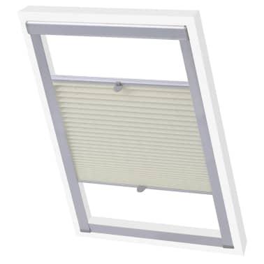 vidaXL Senčilo za zatemnitev okna kremno U08/808[1/7]