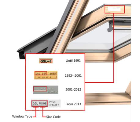 vidaXL Senčilo za zatemnitev okna kremno U08/808[6/7]