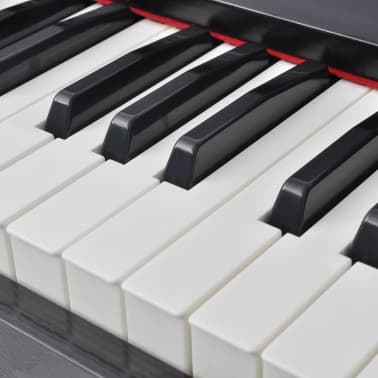 vidaXL 88-key Digital Piano with Pedals Black Melamine Board[7/8]