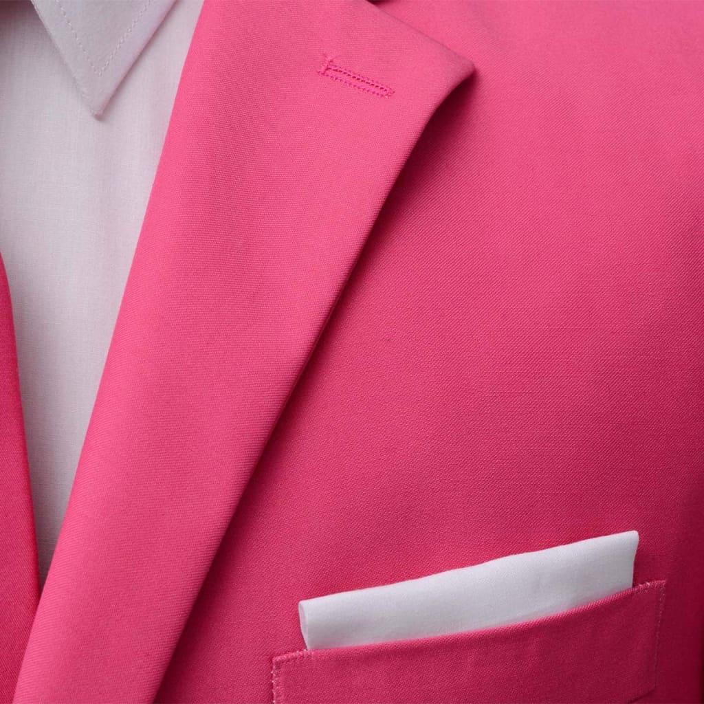 105f4a156bf vidaXL vidaXLi kaheosaline meeste ülikond lipsuga, roosa, suurus 46