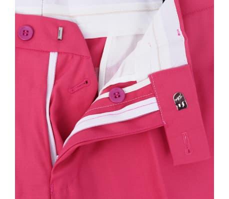 vidaXL Costume pour hommes avec cravate 2 pièces Rose Taille 46[7/8]