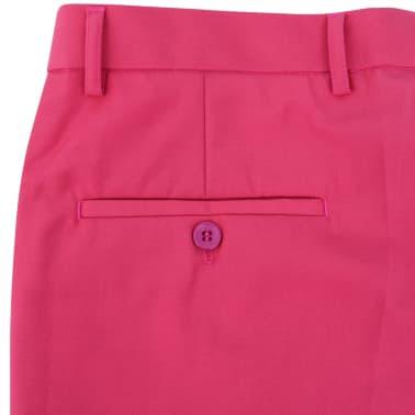 vidaXL Costume pour hommes avec cravate 2 pièces Rose Taille 46[6/8]