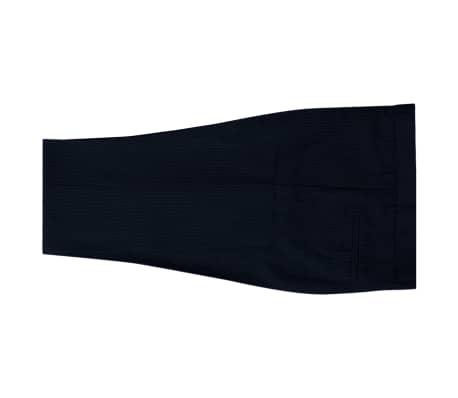 92e7de6f9e790 vidaXL 2-częściowy garnitur biznesowy męski granatowy w paski rozm 48[5/8