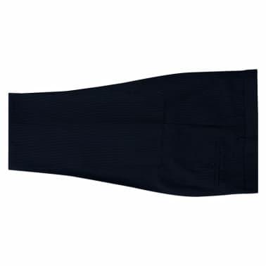 vidaXL Completo da Uomo a Due Pezzi Blu Navy Striato Taglia 50 ... 2ce28d64a50