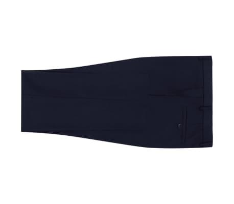 vidaXL Costum bărbătesc 2 piese mărimea 56 albastru închis[5/8]
