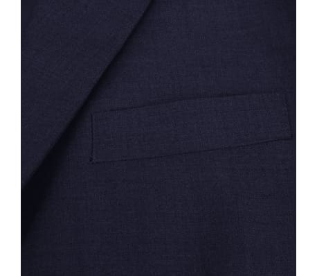 vidaXL 2-tlg. Business-Anzug für Herren Marineblau Gr. 56[3/8]