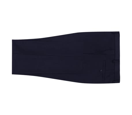 vidaXL 2-tlg. Business-Anzug für Herren Marineblau Gr. 56[5/8]