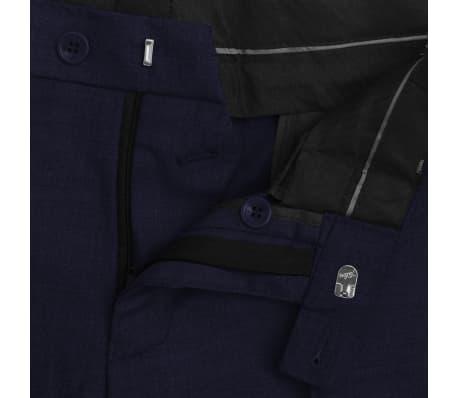vidaXL Zakelijk pak tweedelig marineblauw mannen maat 56[7/8]