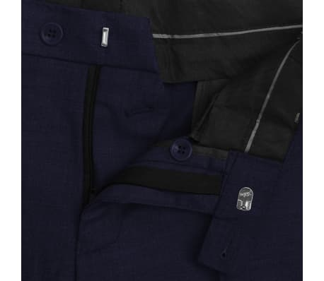 vidaXL 2-tlg. Business-Anzug für Herren Marineblau Gr. 56[7/8]