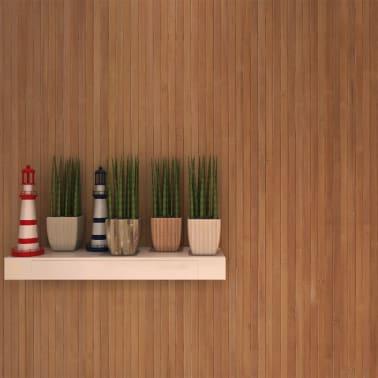 Vidaxl Bambus Wandbelag Tapete 1 5x5 M Braun Gunstig Kaufen Vidaxl De