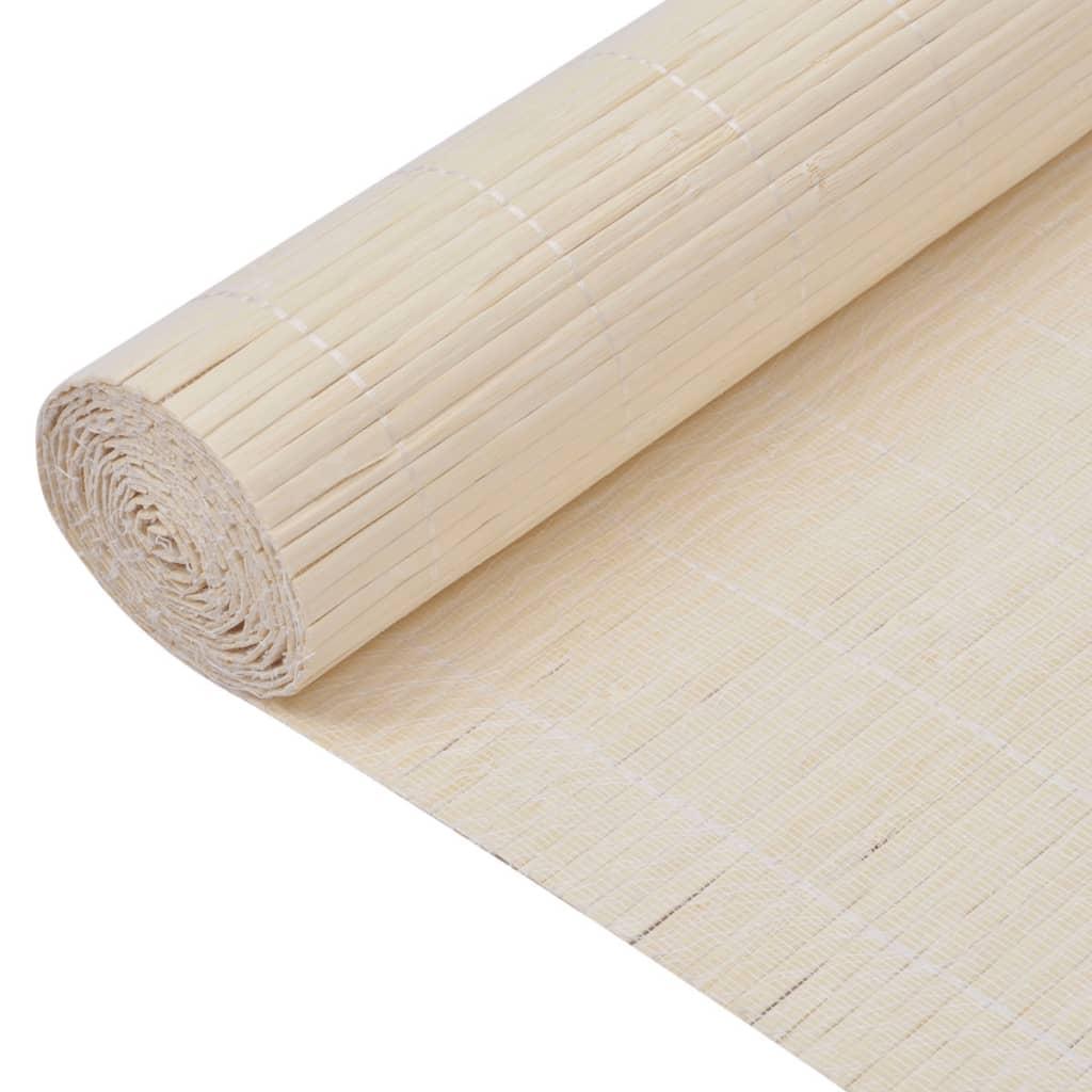 vidaXL Bambusová tapeta 1,5x10 m přírodní