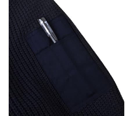 acheter vidaxl pull over de travail pour hommes bleu marine taille xxl pas cher. Black Bedroom Furniture Sets. Home Design Ideas