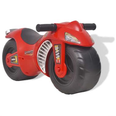 vidaXL Gåmotorcykel Plast Röd[1/6]