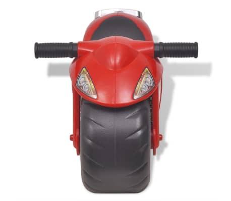 vidaXL Gåmotorcykel Plast Röd[2/6]