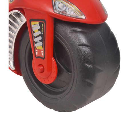 vidaXL Gåmotorcykel Plast Röd[6/6]