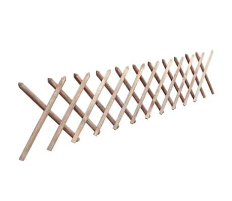 vidaXL Ograja iz FSC impregnirane borovine 250x60 cm[2/3]