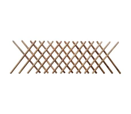 vidaXL Rešetkasta ograda od impregniranog drva 250 x 100 cm -picture