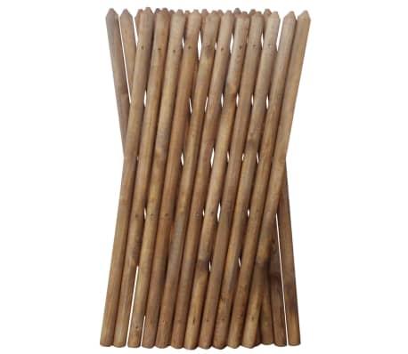 vidaXL Gard cu zăbrele, 250 x 100 cm, lemn tratat[3/3]