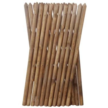 vidaXL Valla enrejada de madera impregnada 250x100 cm[3/3]