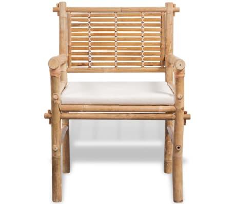 vidaxl f nfteiliges gartenm bel set bambus im vidaxl trendshop. Black Bedroom Furniture Sets. Home Design Ideas