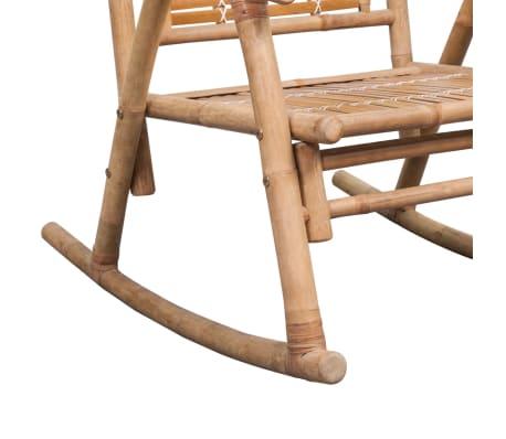 vidaXL Rocking Chair Bamboo[6/10]