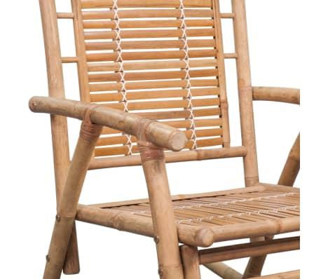 vidaXL Rocking Chair Bamboo[7/10]