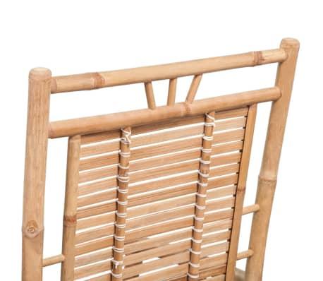vidaXL Schommelstoel bamboe[9/10]