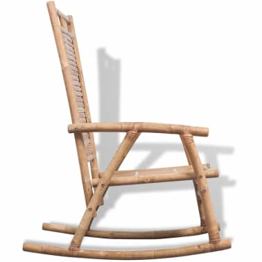 vidaXL Rocking Chair Bamboo[4/10]
