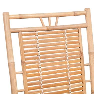 vidaXL Rocking Chair Bamboo[8/10]