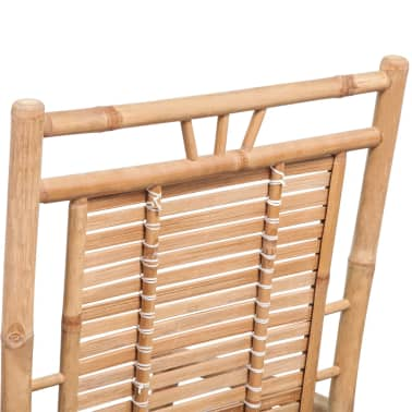 vidaXL Rocking Chair Bamboo[9/10]