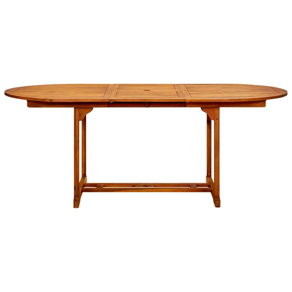 Ansprechend Esstisch 200x100 Ausziehbar Dekoration Von Material: Akazienholz