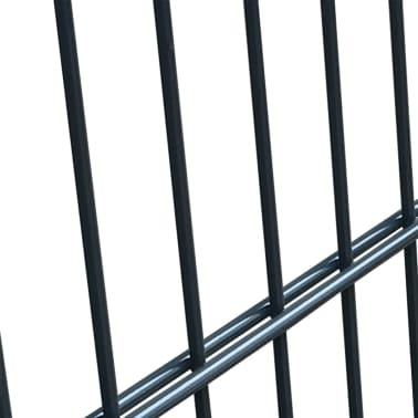 vidaXL Tuinpoort staal antraciet 106x150 cm[5/5]