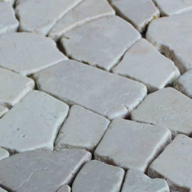 "vidaXL Mosaic Tiles 11 pcs Marble Gold 11.8""x11.8""x0.3""[4/4]"
