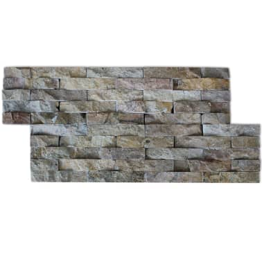 vidaXL Wall Cladding Panels 5 pcs Marble Gold 0.5 m²[3/5]