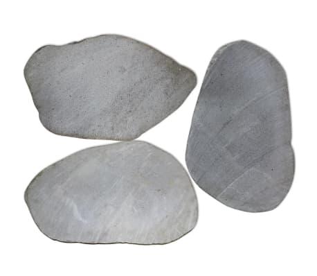 vidaXL Garden Stepping Stones 3 pcs River Stone