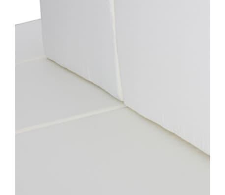 vidaXL Garden Lounge Set 15 Pieces Poly Rattan Black[4/6]